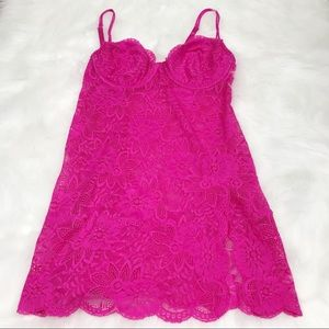 Victoria's Secret Lace Chemise with Underwire